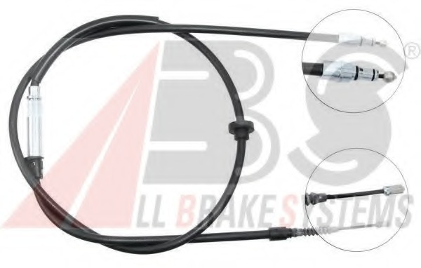 Handbrake Cable FKB3394 First Line Hand Brake Parking 3B0609721AA 3B0609721K New