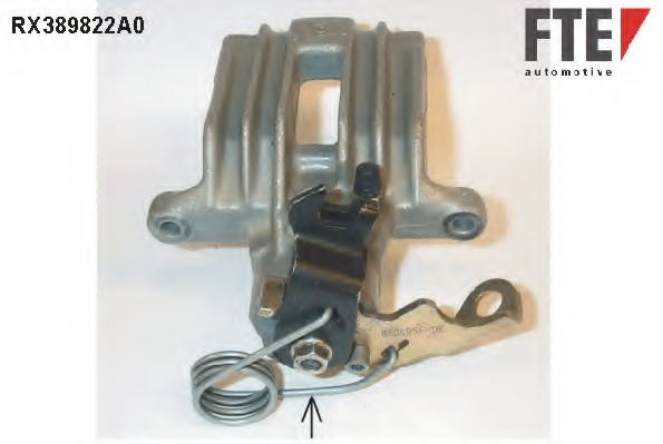 BHN182 TRW Brake Caliper  Rear Axle Left