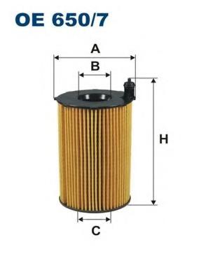 1 Filtre à Huile Bosch f026407122 audi porsche vw