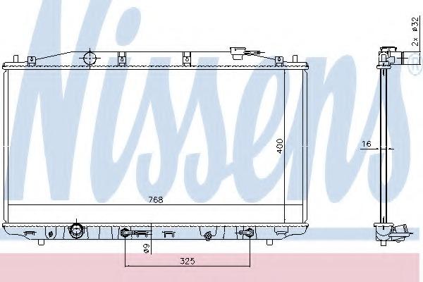NISSENS 68138 Engine Cooling