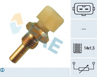 coolant temperature FEBI 36418 Sender Unit