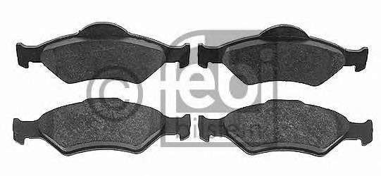 Key Parts KBP1616 Front Brake Pads Ate-Teves