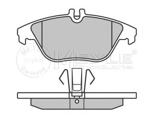 Triscan 8110 23061 Brake Pad Set disc brake