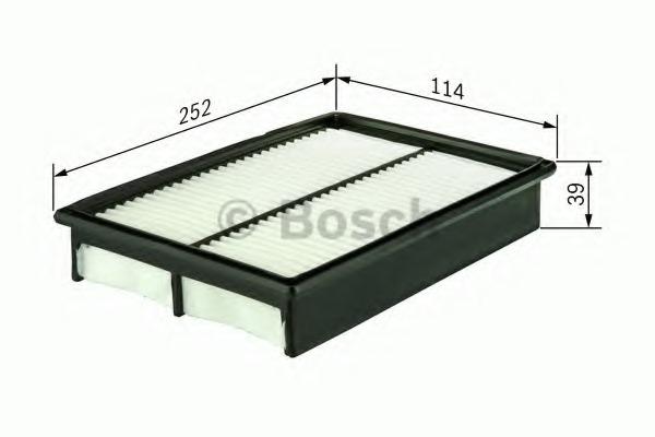Bosch 1457433772 Air-Filter Insert
