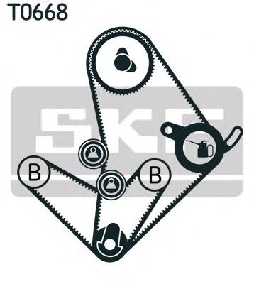SKF VKMA 95014 Timing belt kit