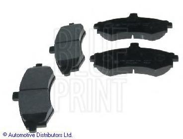 FEBI 16679 Brake Pad Set disc brake Front Axle