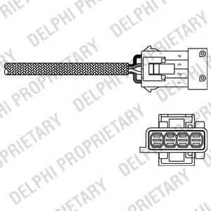 Delphi ES20244-12B1 Lambdasonde