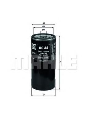 Knecht OC 46 Oil Filter