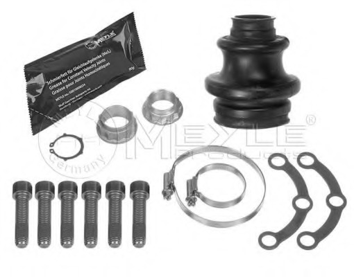 FOR MERCEDES S CLASS S320 W140 1998 PROPSHAFT JOINT KIT with NUTS BOLTS SET
