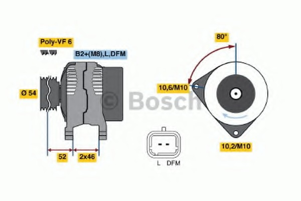 2006-2011 D1616 1700kg EBC OE Front Brake Discs 300mm for Fiat Ducato 2.3 TD