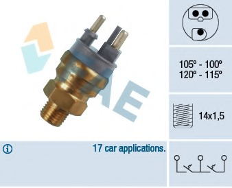 Coolant Level Sensor FOR MERCEDES 190 1.8 2.0 2.3 2.5 2.6 82-/>93 W201 Vemo