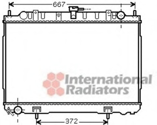 Van Wezel 13002241 Radiateur