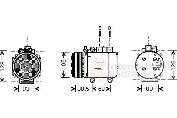 Frigair 920.60005 Compressor For Car
