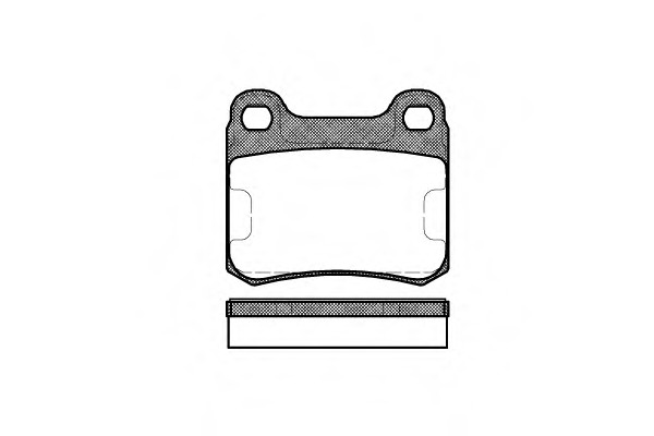 Front Delphi Brake Pads Mercedes-Benz 190 E 1.8 2.0 E 2.0 D 2.0 2.3 2.3 E E 2.3