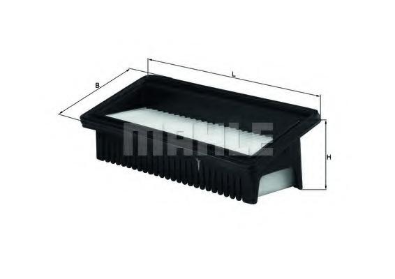 Luftfilter NIPPARTS N1320534 für HYUNDAI i10 PA