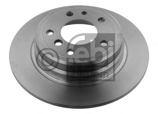 Balo Germany 02094 Set Of 2 Rear Brake Rotors