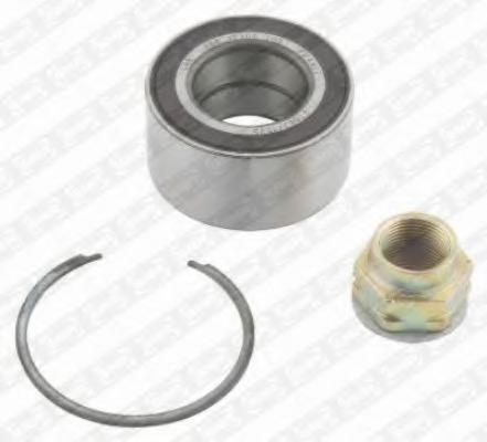 SKF VKBA 3577 Wheel bearing kit