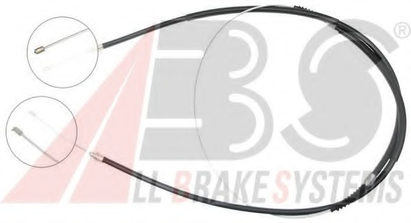 First Line FKB2979 Brake Cable Rear