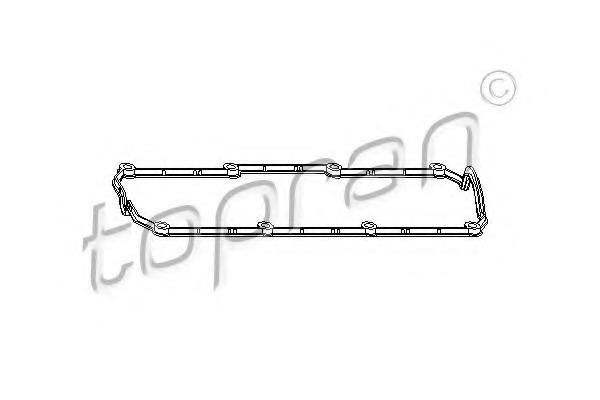 Gasket, cylinder head cover TOPRAN 111 152 for VW BEETLE (1C/9C/1Y)