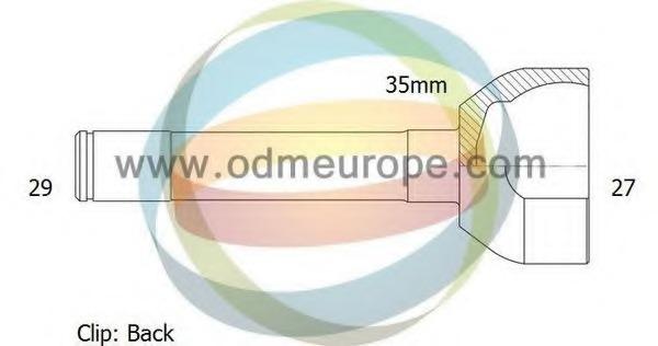 CV-joint for Nissan PATROL SPAIN (K260/W260) /PATROL GR JAPAN Y60
