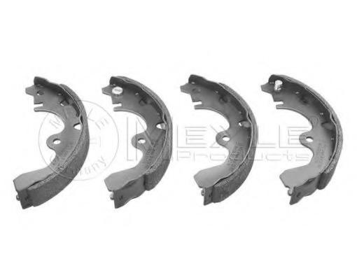 set of 4 Ferodo FSB224 Brake Shoe Set