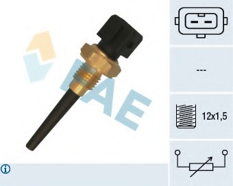 intake air temperature BERU ST010 Sender Unit