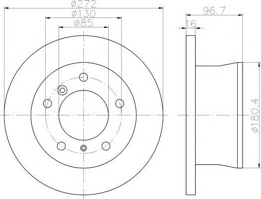 Repair Kit Suspension Strut Snr Kb658 16 Fr Fiat Bravo 198