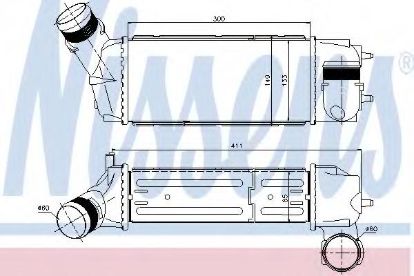VAN WEZEL 09004268 Intercooler
