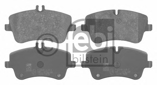 MINTEX FRONT AXLE BRAKE PADS MERCEDES-BENZ C CLK MDB2070 REAL IMAGE OF PART