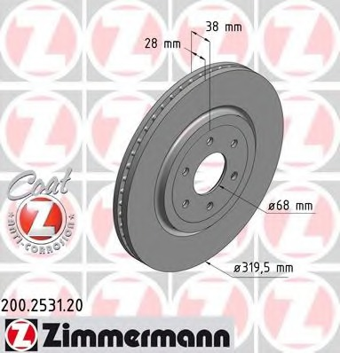 Brake disc for Nissan NAVARA/FRONTIER D40/PATHFINDER R51 - alvadi ee