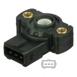 Potentiometer throttle valve for BMW 5 (E39) - alvadi ee