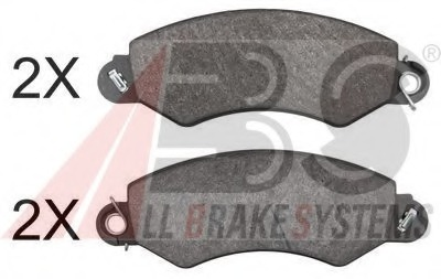 Genuine QH Brake Pad Braking System Replacement Part Front Axle Fits LDV Bp1541