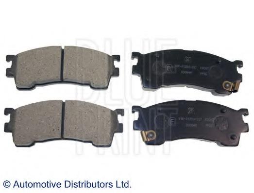 Front Brake Pads Set of 4 for MAZDA PREMACY Juratek JCP950