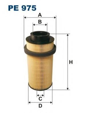 fuel filter filtron pe975 pe 975 for mercedes-benz atego (1823-2628)  al653561 - alvadi.ee  alvadi