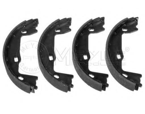 MFR147 MINTEX Brake Shoe Set parking brake rear