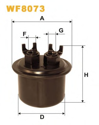 Japanparts FC-413S Fuel filter