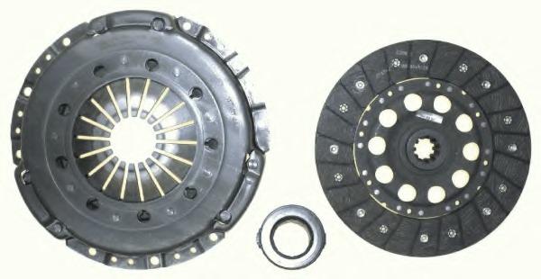 Tracción y transmisión LuK 624 1242 00 RepSet Kit de Embrague