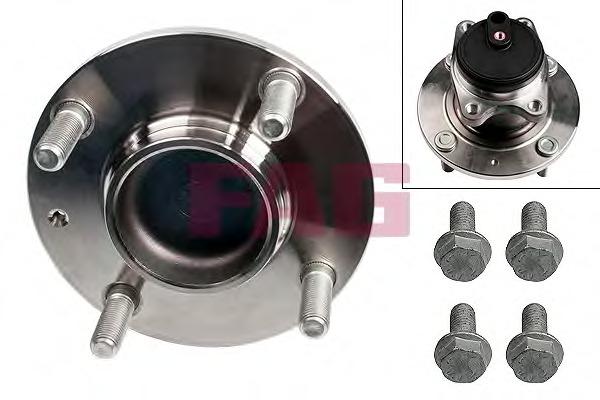 Wheel Bearing Kit FAG 713 6610 20 for Smart, Mitsubishi