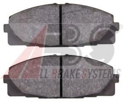 set of 4 disc brake Ferodo FVR4327 Brake Pad Set