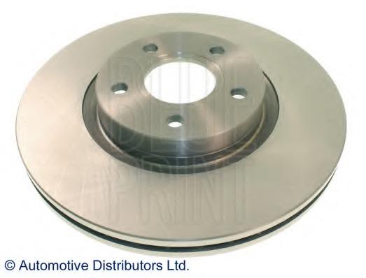Genuine Comline 5 Stud Front Vented Brake Discs ADC1227V