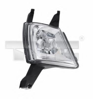 TarosTrade 36-4320-L-67344 Fog Light For 5 Doors