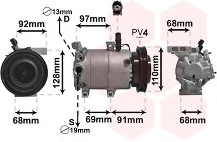 AC compressor for Hyundai VERNA - alvadi ee