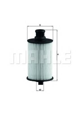 Knecht OX 774D Oil Filter