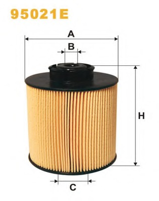 fuel filter wix filters 95021e