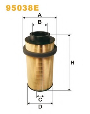 fuel filter for mercedes-benz atego (1823-2628)