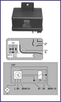 Glow Plug Timer Wiring Diagram from carparts.alpics.info