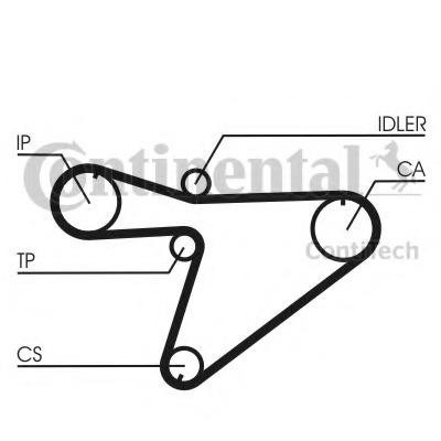 Timing Belt for Daihatsu WILDCAT/ROCKY (F70/F75) - alvadi.ee on