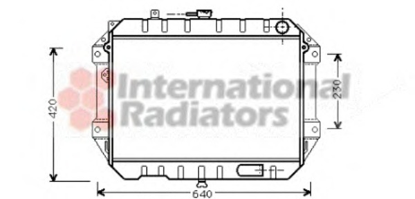Wondrous Radiator Engine Cooling Van Wezel 11002042 For Daihatsu Rocky F7 F8 Wiring Digital Resources Anistprontobusorg