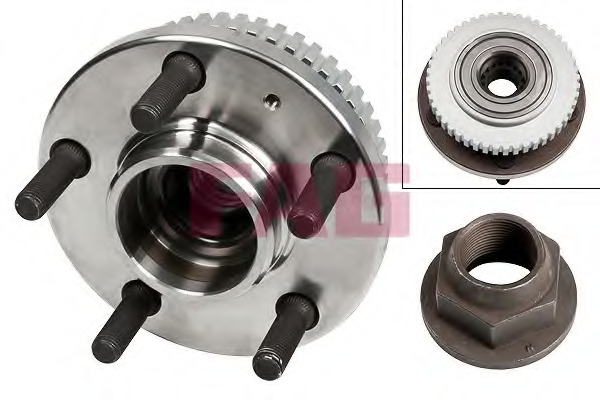 Wheel bearing kit for Volvo 740/760 940/960 - alvadi ee