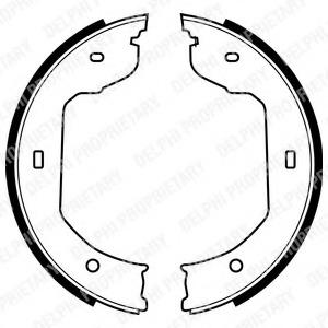 Brake shoes kit, drum brakes